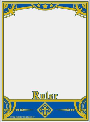 ブロッコリー 世界の文様 Grand Order 「ルーラー」