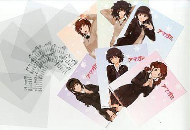 【中古】カレンダー アマガミ 2009年度卓上スクールカレンダー