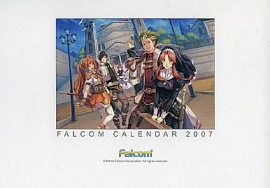 【中古】カレンダー FALCOM 2007年度卓上カレンダー