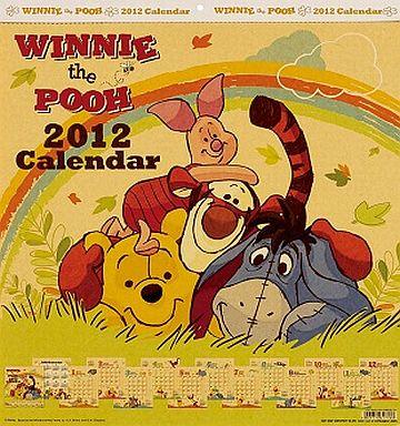 【中古】カレンダー くまのプーさん 2012年度カレンダー
