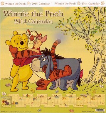 【中古】カレンダー くまのプーさん 2014年度カレンダー