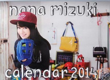 【中古】カレンダー 水樹奈々 2014年度カレンダー 「NANA WINTER FESTA 2014」