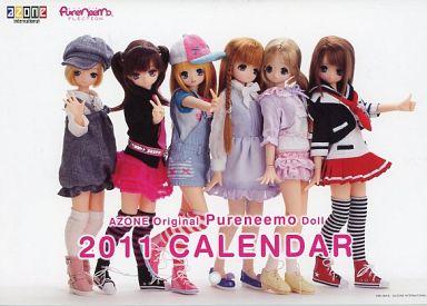 【中古】カレンダー アゾン☆ピュアニーモ 2011年度A5カレンダー キャンペーン景品