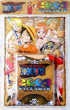 【中古】カレンダー ワンピース 2003年度日めくりカレンダー