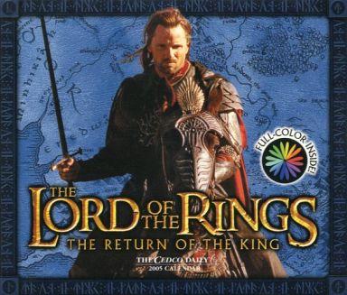 【中古】カレンダー ロード・オブ・ザ・リング 王の帰還 2005年度日めくりカレンダー