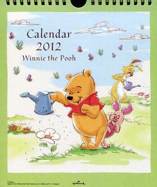 【中古】カレンダー くまのプーさん 2012年度卓上カレンダー