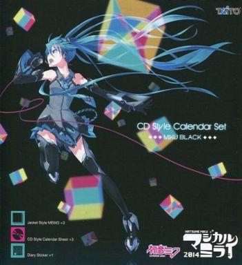【中古】カレンダー 初音ミク(MIKU BLACK) 2014 CD style CALENDAR SET-カレンダーセット- 「マジカルミライ2014 in OSAKA」