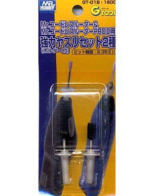 GSIクレオス 新品 塗料・工具 強力ヤスリセット2種入り(ホルダー付) [GT-01B(旧品番 GT12)]