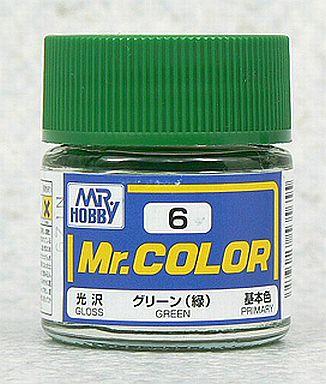 【新品】塗料・工具 塗料 Mr.カラー グリーン(緑)[C6]
