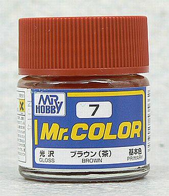 【新品】塗料・工具 塗料 Mr.カラー ブラウン(茶)[C7]