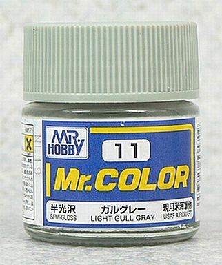 【新品】塗料・工具 塗料 Mr.カラー ガルグレー[C11]