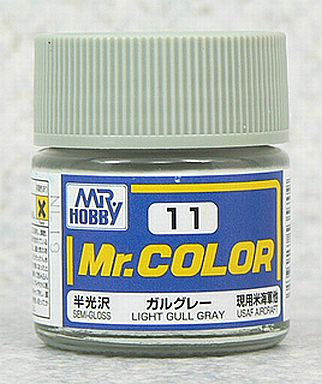 GSIクレオス 新品 塗料・工具 塗料 Mr.カラー ガルグレー[C11]