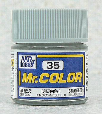 【新品】塗料・工具 塗料 Mr.カラー 明灰白色1[C35]