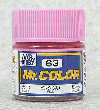 GSIクレオス 新品 塗料・工具 塗料 Mr.カラー ピンク(桃)[C63]