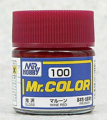 【新品】塗料・工具 塗料 Mr.カラー マルーン[C100]