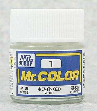 投げ売り堂 - 塗料 Mr.カラー ホワイト(白)[C1]_00