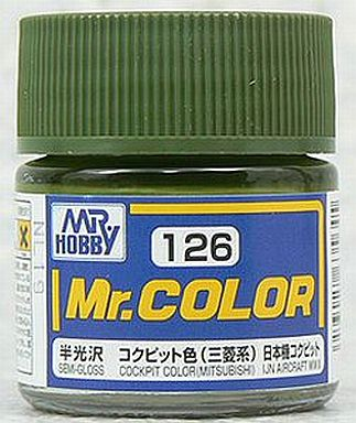 GSIクレオス 新品 塗料・工具 塗料 Mr.カラー コクピット色(三菱系)[C126]
