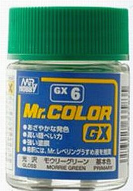 GSIクレオス 新品 塗料・工具 塗料 Mr.カラー モウリーグリーン[GX6]