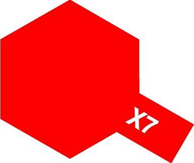 タミヤ 新品 塗料・工具 塗料 タミヤカラー エナメル レッド[X-7]