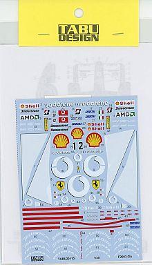 【新品】塗料・工具 1/20 F2003GA用 フルスポンサー フジミ対応 デカール [TABU-20110]