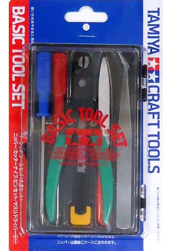 タミヤ 新品 塗料・工具 ベーシックツールセット 「クラフトツールシリーズ No.16」 [74016]