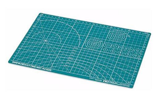 タミヤ 新品 工具・デカール カッティングマット(A4サイズ/グリーン) 「クラフトツールシリーズ No.118」 [74118]