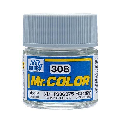 GSIクレオス 新品 塗料・スプレー 塗料 Mr.カラー グレー FS36375 アメリカ制空迷彩色(半光沢 ラッカー系) [C308]