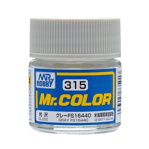 GSIクレオス 新品 塗料・スプレー 塗料 Mr.カラー グレー FS16440 アメリカ海軍標準塗装色(光沢 ラッカー系) [C315]