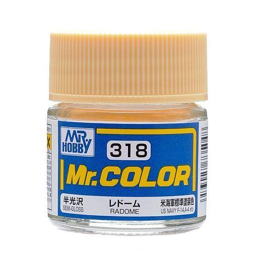 GSIクレオス 新品 塗料・スプレー 塗料 Mr.カラー レドーム アメリカ海軍標準塗装色(半光沢 ラッカー系) [C318]