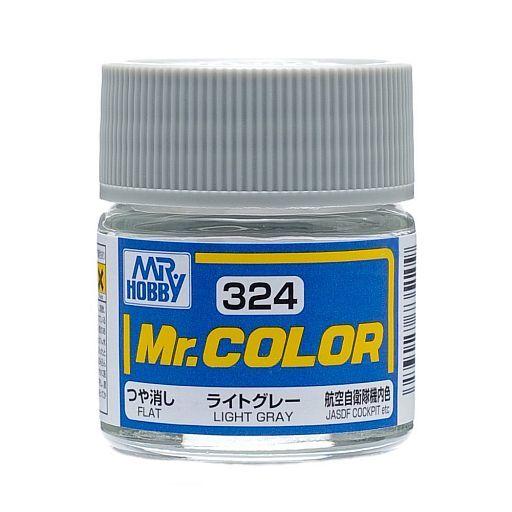 GSIクレオス 新品 塗料・スプレー 塗料 Mr.カラー ライトグレー T-2ブルーインパルスカラー(つや消し ラッカー系) [C324]