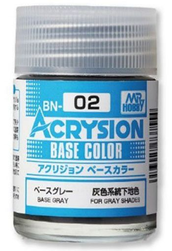 GSIクレオス 新品 塗料・スプレー 塗料 アクリジョン ベースカラー ベースグレー [BN02]