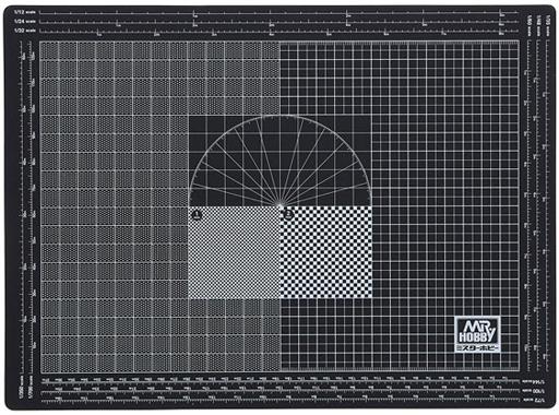 GSIクレオス 新品 塗料・工具 Mr.カッティングマット A4 SIZE [MT802]