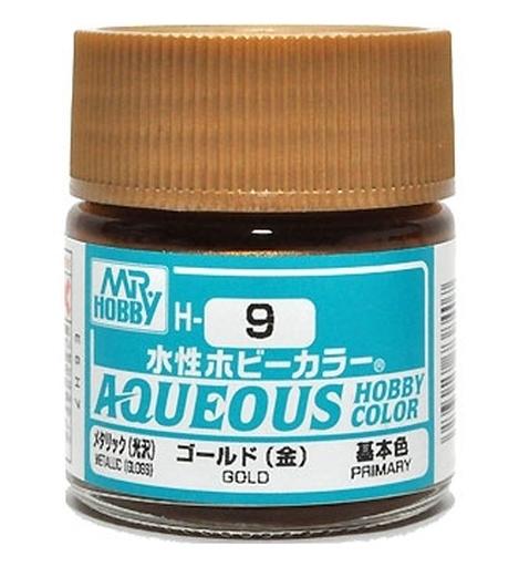 GSIクレオス 新品 塗料・工具 塗料 水性ホビーカラー ゴールド(金) [H-9]