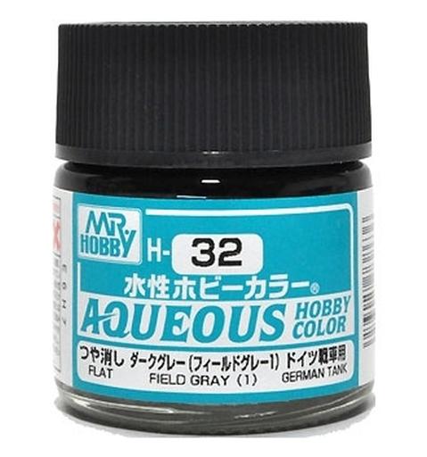 GSIクレオス 新品 塗料・工具 塗料 水性ホビーカラー ダークグレー(フィールドグレー1) [H-32]