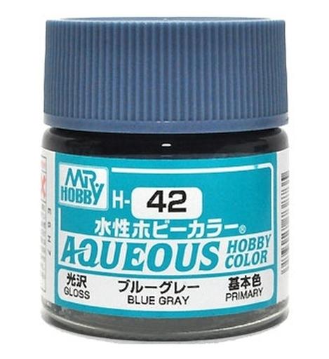水性ホビーカラー ブルーグレー 10ml H42