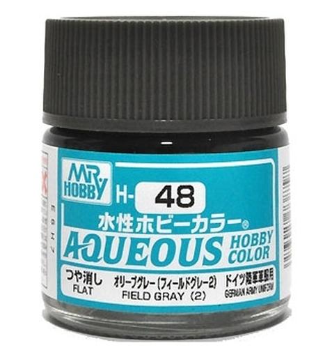 水性ホビーカラー オリーブグレー 10ml H48