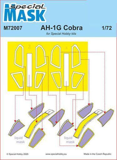 CMK 新品 塗料・工具 1/72 AH-1Gコブラ用マスクシールセット・スペシャルホビー [CMM72007]