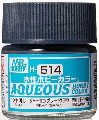 GSIクレオス 新品 塗料・工具 塗料 水性ホビーカラー ジャーマングレー/グラウ [H514]