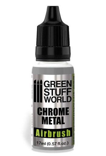 Green Stuff World(グリーンスタッフワールド) 予約 塗料・工具 アルコール系塗料 エアブラシ専用クロームメッキペイント [GSWC-2455]