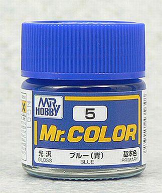 【新品】塗料・工具 塗料 Mr.カラー ブルー(青)[C5]
