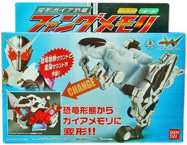 【中古】おもちゃ 変形ガイア恐竜 ファングメモリ 「仮面ライダーW」