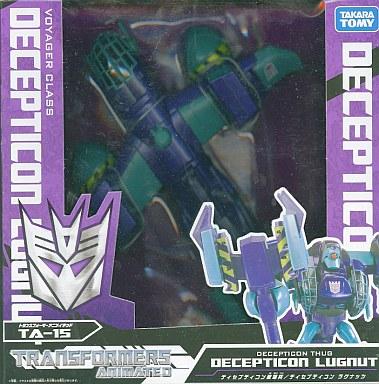 【中古】おもちゃ TA-15 ディセプティコン ラグナッツ 「トランスフォーマー アニメイテッド」