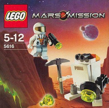 【中古】おもちゃ LEGO レゴ MARS・MISSION ミニロボット 5616
