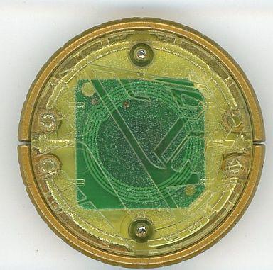 【中古】おもちゃ オーメダル チーター・コア(黄色) [カプセルオーメダル8]