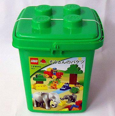 【中古】おもちゃ LEGO ぞうさんのバケツ 「レゴ デュプロ」 7614