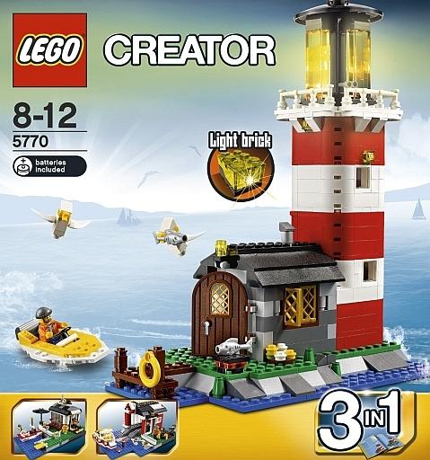 【中古】おもちゃ LEGO 灯台の島 「レゴ クリエイター」 5770