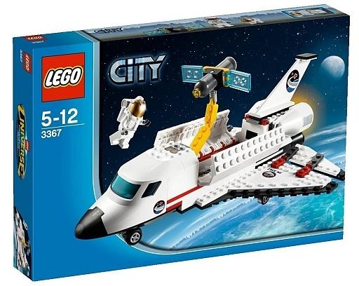 【中古】おもちゃ LEGO スペースシャトル 「レゴ」 3367