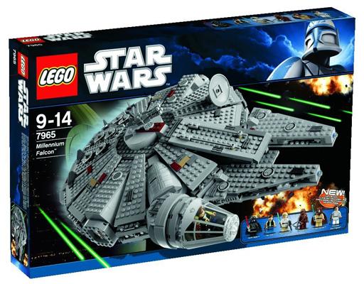 【中古】おもちゃ LEGO ミレニアム・ファルコン 「レゴ スター・ウォーズ」 7965