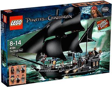 【中古】おもちゃ LEGO ブラックパール号 「レゴ パイレーツ・オブ・カリビアン」 4184