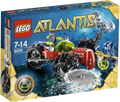 【中古】おもちゃ LEGO シーベッド・スカベンジャー 「レゴ アトランティス」 8059